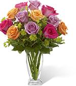 The Pure Enchantment Rose Bouquet